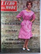 L'echo De La Mode Avec Sa Pleine Page Tintin Au Pays De L'or Noir  N° 26 Du 28 Juin 1959 - Mode