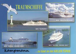 Traumschiffe,UP-Verlag Kiel,2300/269,ungelaufen - Dampfer