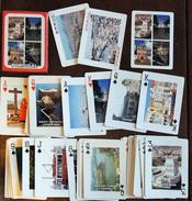 Ancien Jeu De 54 Cartes Avec Des Photographies Couleur Du PORTUGAL - Jeux De Société