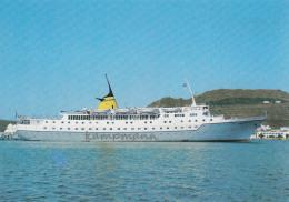 """MS """"Aquarius"""",Hellenic Mediterranean Lines,ungelaufen - Piroscafi"""