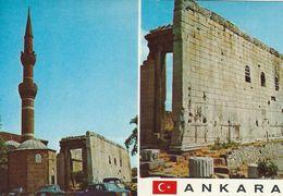 Ankara -Ogüst Mabedi Ve Hacibayram Camii.  Turkey.    # 07336 - Turkey