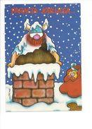 18378 -  Père Noël Hagard Du Nord Le Viking Hauskaa Joulua - Santa Claus