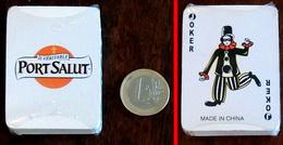 Ancien Jeu Publicitaire Miniature 54 Cartes Fromage PORT-SALUT Sous Cellophane - Jeux De Société