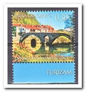 Montenegro 2017, Postfris MNH, Bridge, Tourism - Montenegro