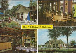 "Rest. ""De Rietstulp"" Giethorn. Pension ""de Beulaker""    # 07338 - Reclame"