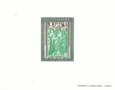 Andorra Francesa Nº 214 Al 216 En Pruebas - Unused Stamps