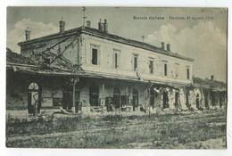 AK Italien Gorizia Stazione (9 Agosto 1916) Ungebraucht Ediz. A De-Pangher Udine Censura Terni 30-2-17 - Gorizia