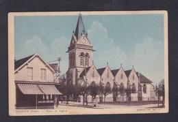 Lusigny (10) Place Et Eglise ( COMBIER ) - France