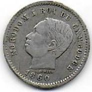 CAMBODGE - 50c  1860 - Cambodia