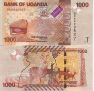 Ugavda P-49  1000 Shillings 2013  UNC - Uganda