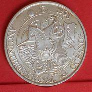 PORTUGAL 1000 ESCUDOS 1998 - 27 GRS 0,500 SILVER   KM# 707 - (Nº19222) - Portugal