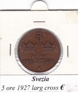 SVEZIA   5  ORE  ANNO 1927  COME DA FOTO - Svezia