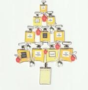 CHANEL Carte De NOEL Vintage - Cartes Parfumées