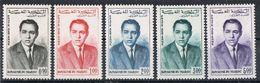 MAROC AERIEN N°106 A 110 N* - Marruecos (1956-...)