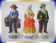 Costumes E Régions .. Lot De 3 Fèves ... Ref AFF :   ( Pan 003) - Regions