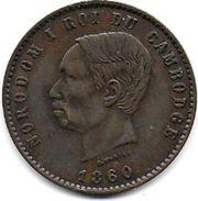 CAMBODGE - Dix Centimes  1860 - Cambodge
