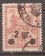 Polen Stadtpost Warschau Mi.9 - ....-1919 Übergangsregierung