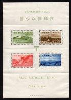 JAPON - Bloc Du Parc National D'Aso Neuf - Blocks & Sheetlets