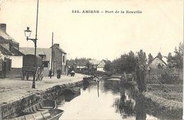 CPA Amiens Port De La Neuville - Amiens