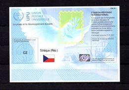 9419 IRC IAS CRI - International Reply Coupon - Antwortschein T41, Tschech. Republik, Tchèque, CZ 20170802 AA - Tschechische Republik