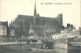 CPA Amiens Cathédrale Côté Nord - Amiens