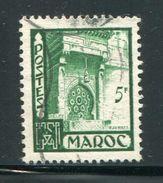 MAROC- Y&T N°282- Oblitéré - Used Stamps