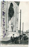 - 104 - Le Caire - CAIRO - Entrance To Mosque Sultan Hassan - Animation, Non écrite, TBE, Scans. - Cairo