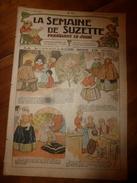 1917 La Merveilleuse Rose De Noël ; Comment Faire Soi-même Un Téléphone D' Appartement ; Etc (LSDS) - La Semaine De Suzette