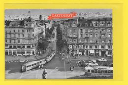 Zurich  Bahnhofpl Tramway - Trolley - 1957 - ZH Zurich