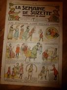 1917 Les étrennes D'une Enfant Gâtée ; Etc (LSDS)  LA SEMAINE DE SUZETTE - La Semaine De Suzette