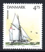 DENMARK 1993 Sailing Ships/Training Ships DKK4.75: Single Stamp UM/MNH - Nuevos