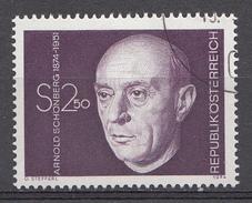Autriche 1974  Mi.Nr: 1463 Geburtstag Von Arnold Schönberg  Oblitèré / Used / Gebruikt - 1971-80 Afgestempeld