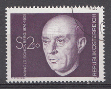 Autriche 1974  Mi.Nr: 1463 Geburtstag Von Arnold Schönberg  Oblitèré / Used / Gebruikt - 1945-.... 2ème République