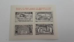 Australian Antarctic Territory Vignette 1954 - Covers & Documents