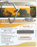 GREECE - Elephant, Call Africa, Euro-Link Prepaid Card 10 Euro, Sample - Grèce