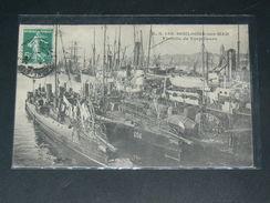 BOULOGNE SUR MER    1910  TORPILLEURS     CIRC  EDIT - Boulogne Sur Mer