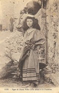 Type De Jeune Fille Corse Allant à La Fontaine - Collection De Luxe J. Moretti - Carte N° 1119 - Europe