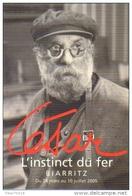 "Carte Postale ""Cart'Com"" (2005) - César - L'instinct Du Fer - Biarritz - Advertising"