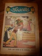 1937 LISETTE:Le Violon Magique D'Huguette Vorel (texte Et Dessins De René Louys);Chemisier Au Tricot Pour Fillette;etc - Lisette