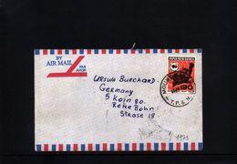 Papua New Guinea Interesting Letter - Papua Nuova Guinea