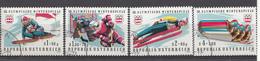 Autriche 1975  Mi.Nr: 1479-1482 Olympische Winterspiele, Innsbruck  Oblitèré / Used / Gebruikt - 1945-.... 2ème République