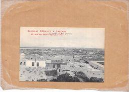 TUNIS - TUNISIE - Vue Générale - PUB CHOCOLAT DEBAUVE Et GALLAIS - Paris - NANT2 - - Tunisie