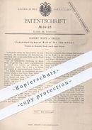 Original Patent - Robert Marx , Berlin , 1883 , Halter Für Zündhölzer | Streichhölzer , Zündholz , Holz , Feuer !! - Historische Dokumente