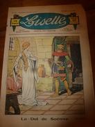 1937 LISETTE:Le Violon Magique D'Huguette Vorel (texte Et Dessins René Louys);Costume Bordeaux Pour 9 Ans En Laine;etc - Lisette