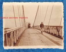 Photo Ancienne - Secteur LANNION / PAIMPOL - Diligence Sur Un Pont - SUPERBE - Attelage - 1911 - Cotes D' Armor Bretagne - Places