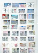 Scandinavia : Selection  Of Denmark ,  Norway And Sweden, With Many Commems - Timbres