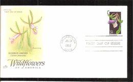 1992 WILDFLOWERS - Ersttagsbelege (FDC)