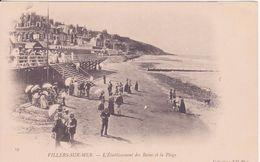 CPA -  19.VILLERS SUR MER -  L'établissement Des Bains Et La Plage - Villers Sur Mer