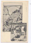 BRIANCON - Pont Baldy Et La Cascade - Dos Simple - Bon état - Briancon