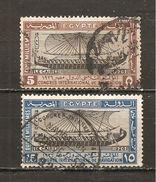 Egipto - Egypt. Nº Yvert  108, 110 (usado) (o) - Usados